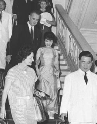 Vice Presidental Visit to South Vietnam