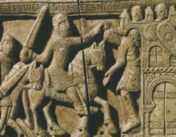 Invasión germánica a la Galia
