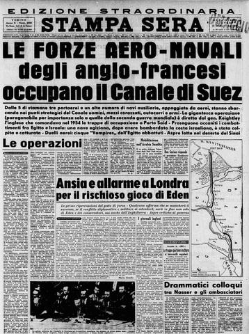 Nazionalizzazione del canale di Suez e crisi di Suez