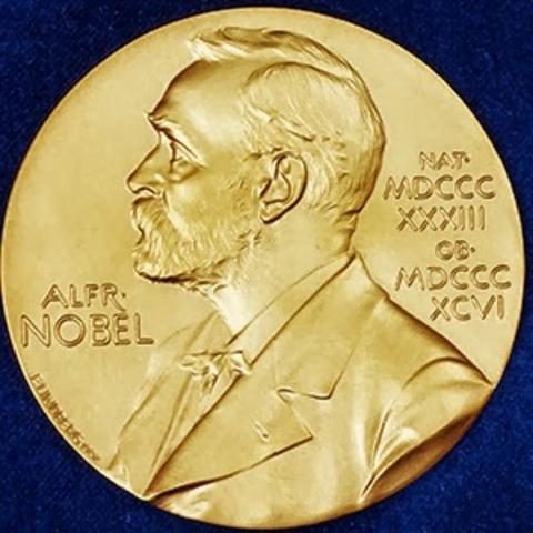 Assegnazione del primio premio nobel