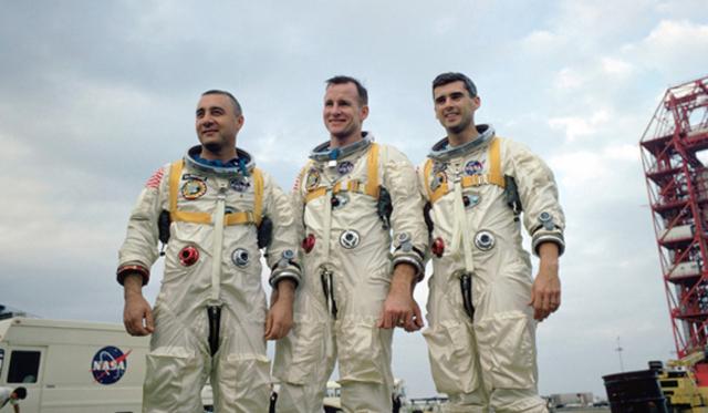 Apalo 1 astronauts dye in fine