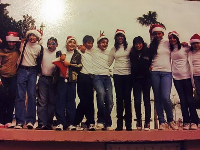 Festival navideño en 6to año de primaria