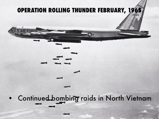 Operation Rolling Thunder Begins
