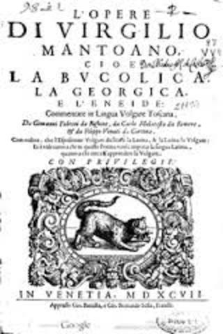 edición de la Opera de Virgilio