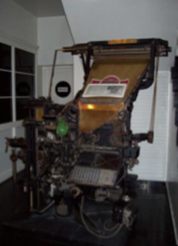 Mecanización de la tipografía
