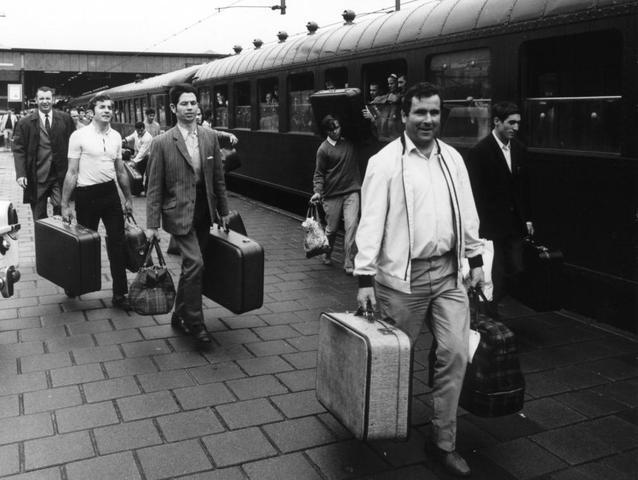 La Emigracion de los años 40
