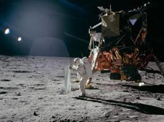 Apollo 11 lands on the moon and back safely