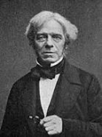 Michael Faraday establece que el magnetismo produce electricidad