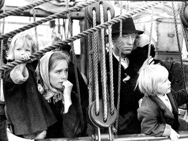 Emigracion de los años 50