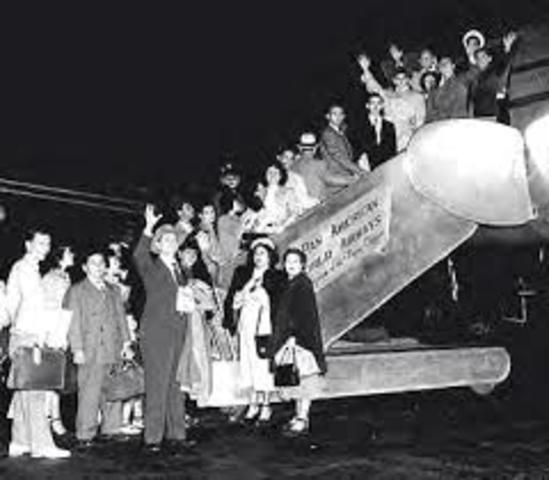 Emigracio de lso años 60