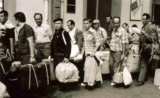 Emigracion de los años 70
