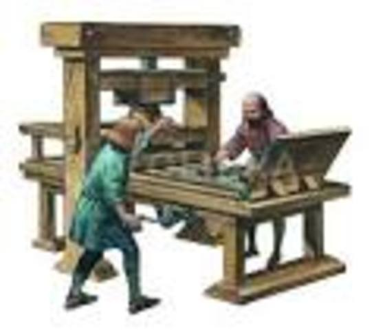 Caxton Introduce Printing Press