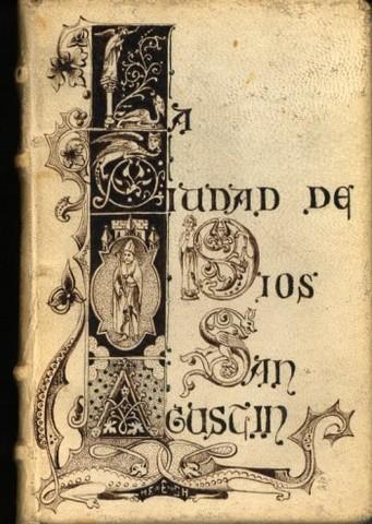 """""""Ciudad de Dios"""" el primer libro tipográfico"""