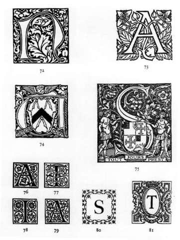 El primer diseño que empleó flores de imprenta