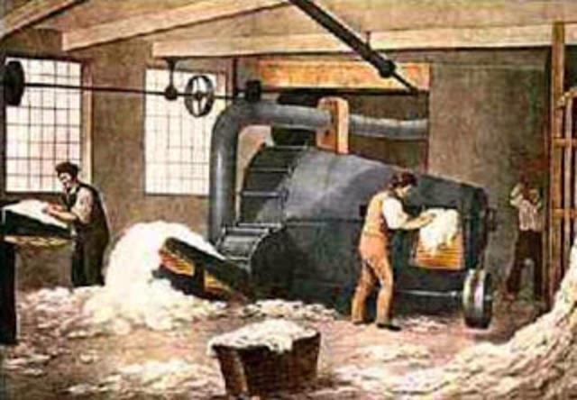 Friedrich Koning presentó sus planos de la empresa de vapor.