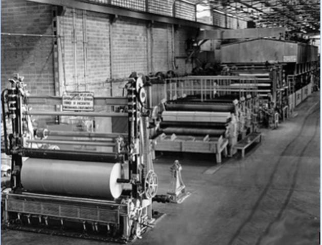Prototipo de máquina para fabricar papel