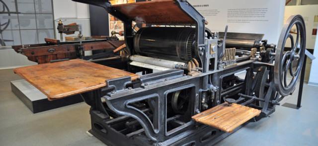 Nuevo tipo de impresión llamado litografía