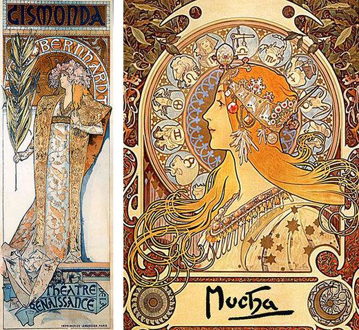 Art Nouveau Francés