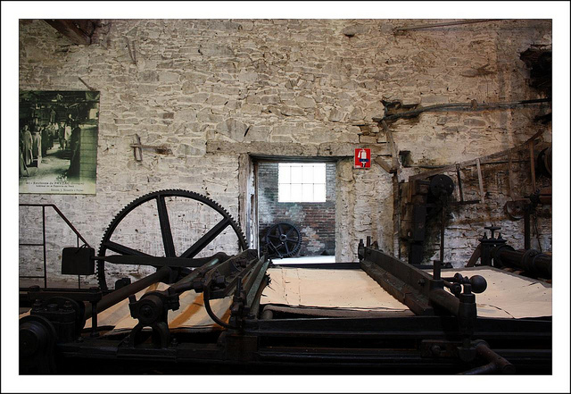 Máquina para producir papel