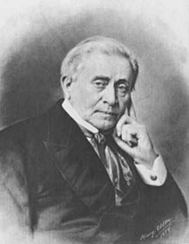 Joseph Henry discovers radio waves