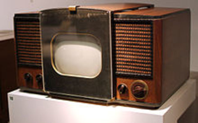 Radio was first used to transmit pictures visible as television.