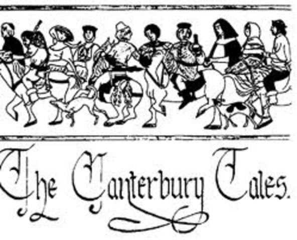 Publication of Canterbury Tales