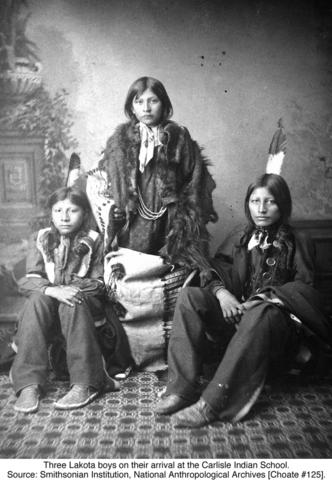 Spokane Indians are sent to School