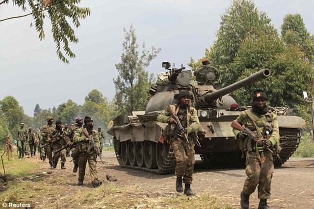 The RPF takes control of Rwanda