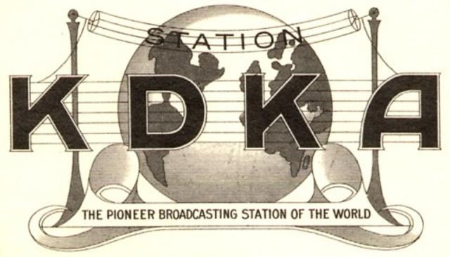 KDAK- Frist Radio Station