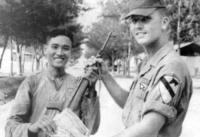U.S. Military Advisory Group Arrives in Saigon