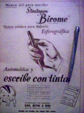 El bolígrafo