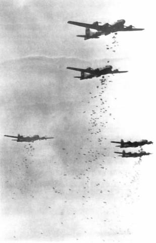 The U.S. continues bombing N. Vietnam