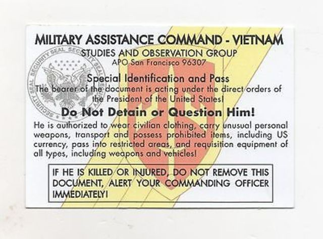 Military Assistance Command Vietnam Created