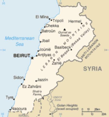 Guerra in libano
