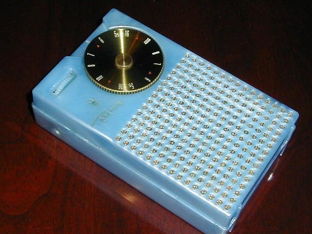 First All-Transitor Radio