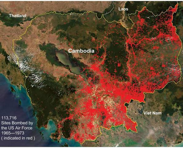 Secret bombings in Cambodia begin