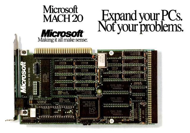 Microsoft предложила операционные системы для PC/AT