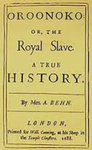 Oroonoki: History of the Royal Slave by Aphra Behn