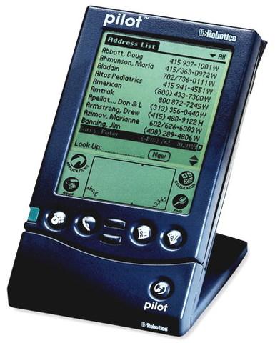 Компания Palm Computing, образованная на базе корпорации 3Com, выпускает карманный компьютер Pilot PDA,