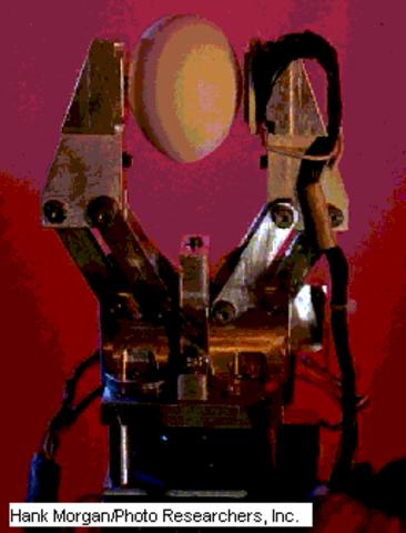 Aparición robots industriales