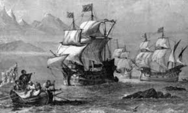 Magellan set sail from Spain