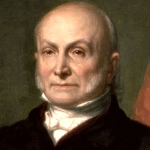 Quincy beat Jackson in presidential election
