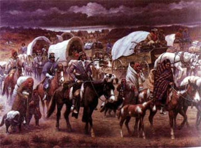 The Indian Removal Act was passed
