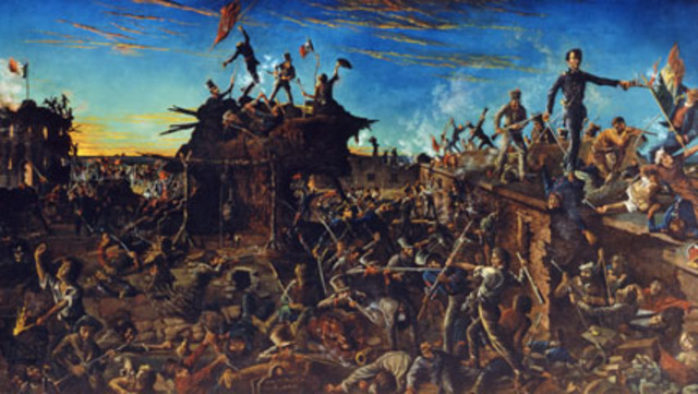 The Battle of the Alamo ended