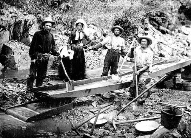 The First Discovery of Gold in California
