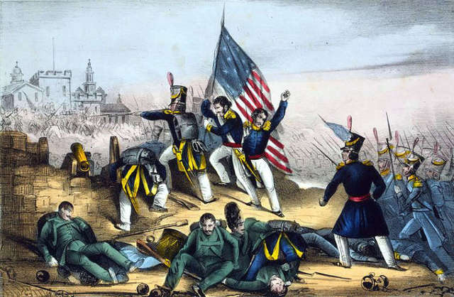 End of the Mexican American War