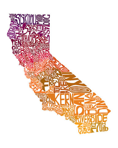 California becomes a state.