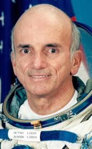First Tourist Transported on a Rocket into Space