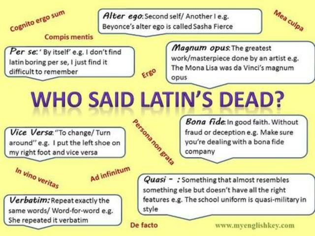 English replaces Latin in Schools