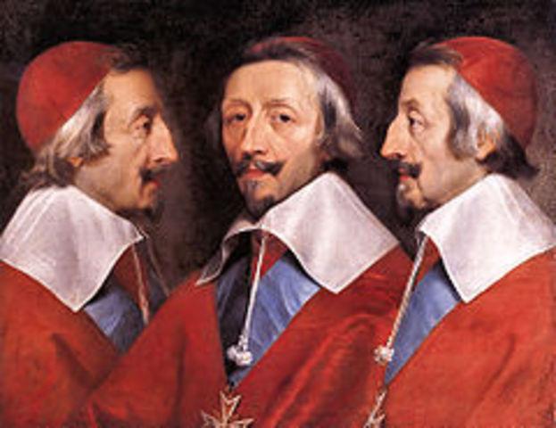 Richelieu est nommé Évêque de Luçon par Henri IV.